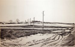Artwork preview : Engravings, Deschamps : Ferme en Beauce