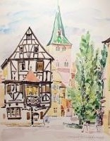 Artwork preview : Watercolors, Deschamps : Turckheim
