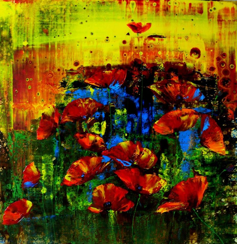 Artwork picture : Gradianu Nelu, POPPIES