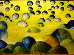 Artwork preview : Paintings, Berthomier : vol de boules