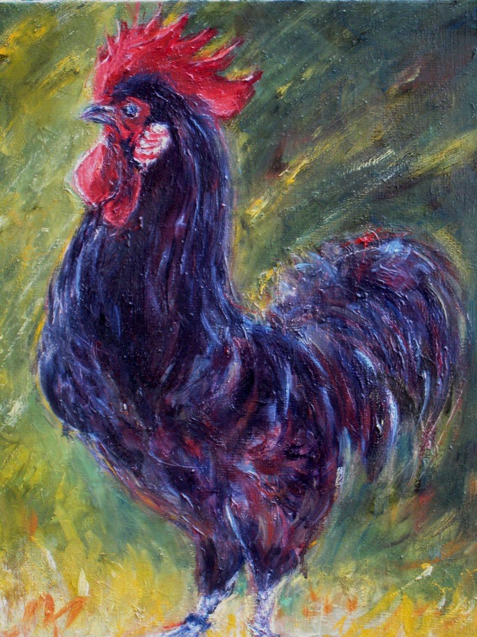 Artwork picture : Dawy, coq