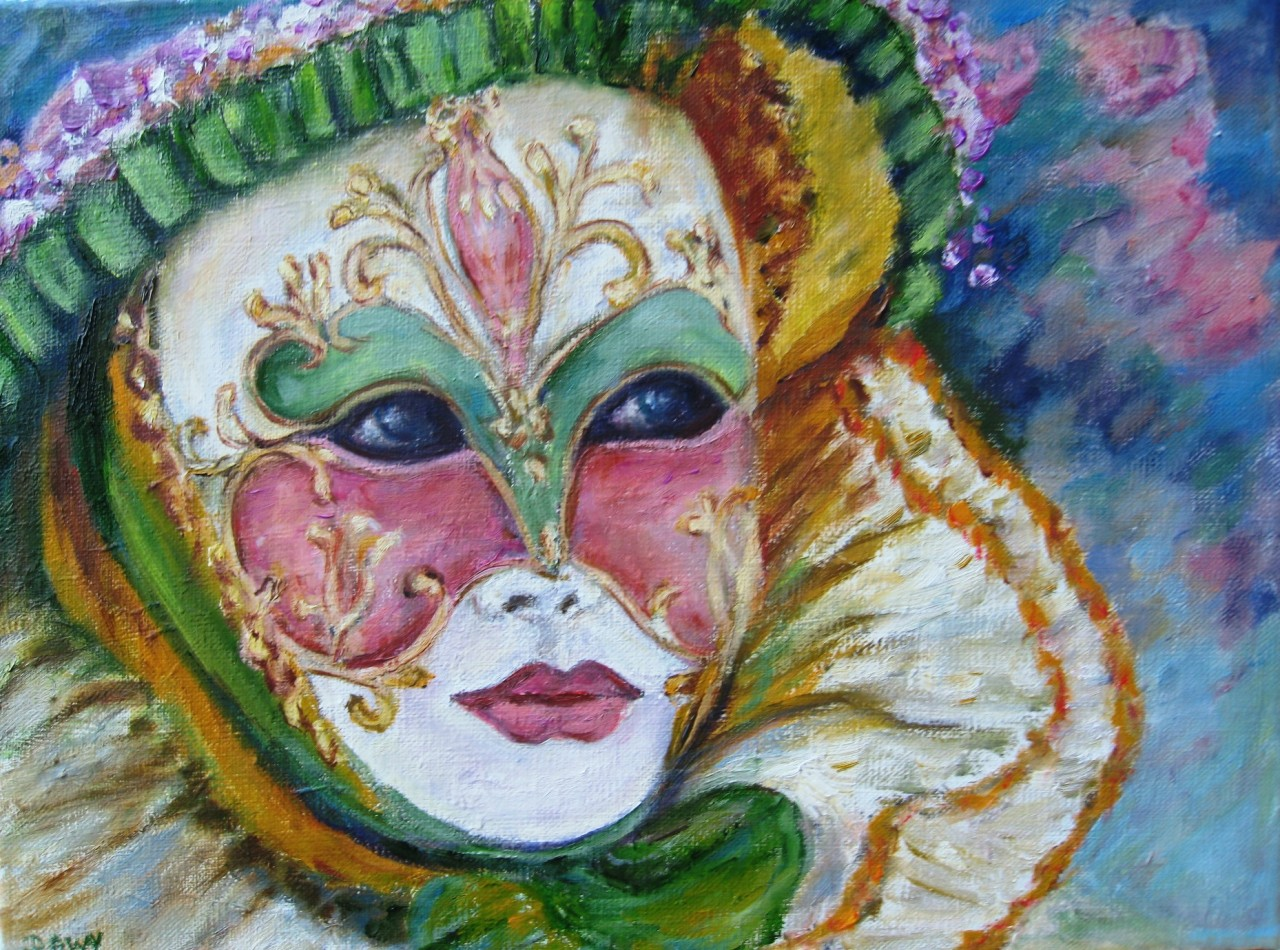 Artwork picture : Dawy, masque vénitien