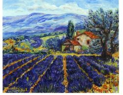 Artwork preview : Oil Painting, provence