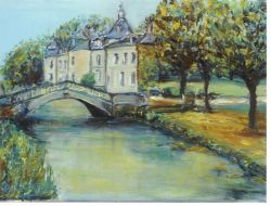 Artwork preview : Oil Painting, chateau