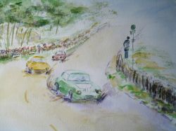 Artwork preview : Watercolors, Dawy : 24 heures du mans