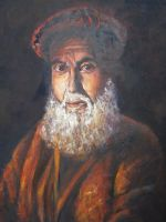 Artwork preview : Oil Painting, Paysan afghan