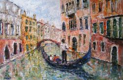 Artwork preview : Oil Painting, Venise