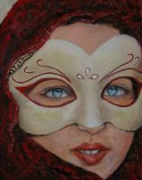 Artwork preview : Oil Painting, Vénitienne