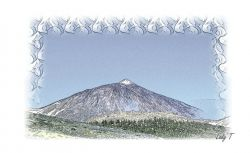 Artwork preview : Prints, Little : Tenerife Spain Mount Teide
