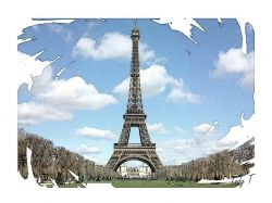 Artwork preview : Prints, Eiffel Tower