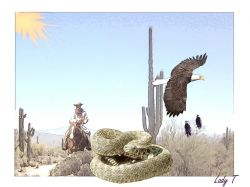 Artwork preview : Prints, Desert Cowboy
