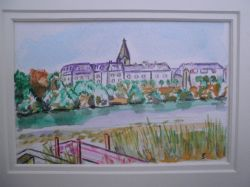 Artwork preview : Watercolors, Chateau Lavallière (37)