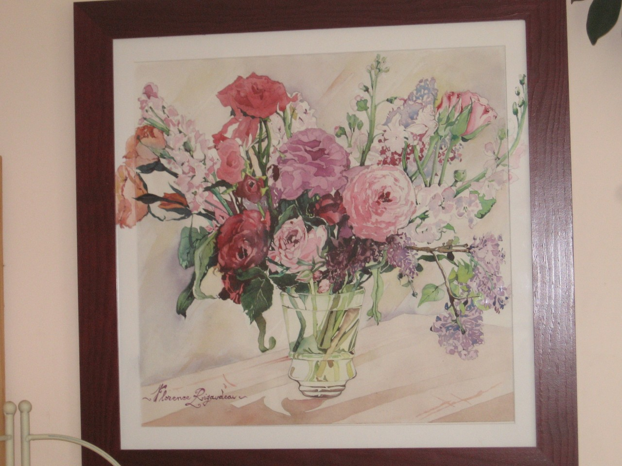 Artwork picture : Florence Rigaudeau, Bouquet