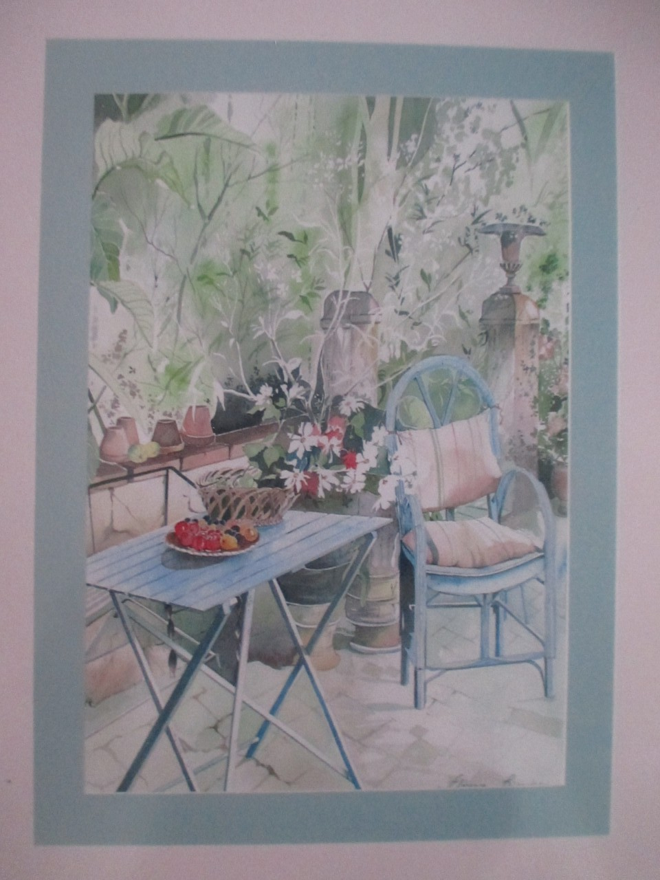 Artwork picture : Florence Rigaudeau, Terrasse