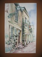 Artwork preview : Watercolors, Ruelle du Vieux Mans