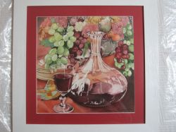 Artwork preview : Watercolors, Rigaudeau : Carafe de vin