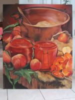 Artwork preview : Acrylic, Rigaudeau : confiture de pêches