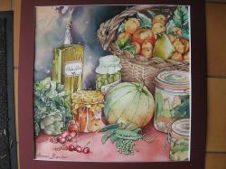 Artwork preview : Watercolors, Rigaudeau : Fruits et légumes