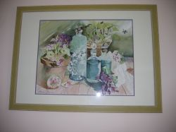 Artwork preview : Watercolors, Rigaudeau : Nature morte