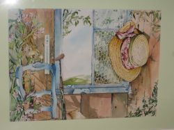 Artwork preview : Watercolors, Rigaudeau : Décor provençal
