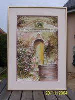 Artwork preview : Watercolors, Porte jaune