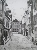 Artwork preview : Drawings, Vieux mans ( 6 )