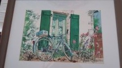 Artwork preview : Rigaudeau : bicyclette île de Ré ( 2 )