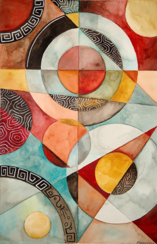 Artwork picture : Kimberly Garvey, Rings 4