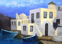 Artwork preview : Paintings, Sunny Greece