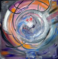 Artwork preview : Acrylic, Glachant : La fin du monde en couleurs