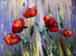 Artwork preview : Paintings, Gradeanu : POPPIES