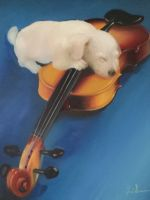 Artwork preview : Paintings, Gradeanu : VIOLINIST