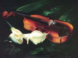 Artwork preview : Paintings, Gradeanu : VIOLIN & CALE