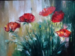 Artwork preview : Gradeanu, Paintings, POPPIES III
