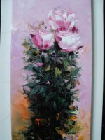 Artwork preview : Paintings, Gradeanu : ROSE II