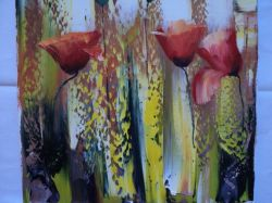 Artwork preview : Paintings, Gradeanu : POPPIES II